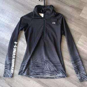 NWOT tags under armour 1/4 zip jacket